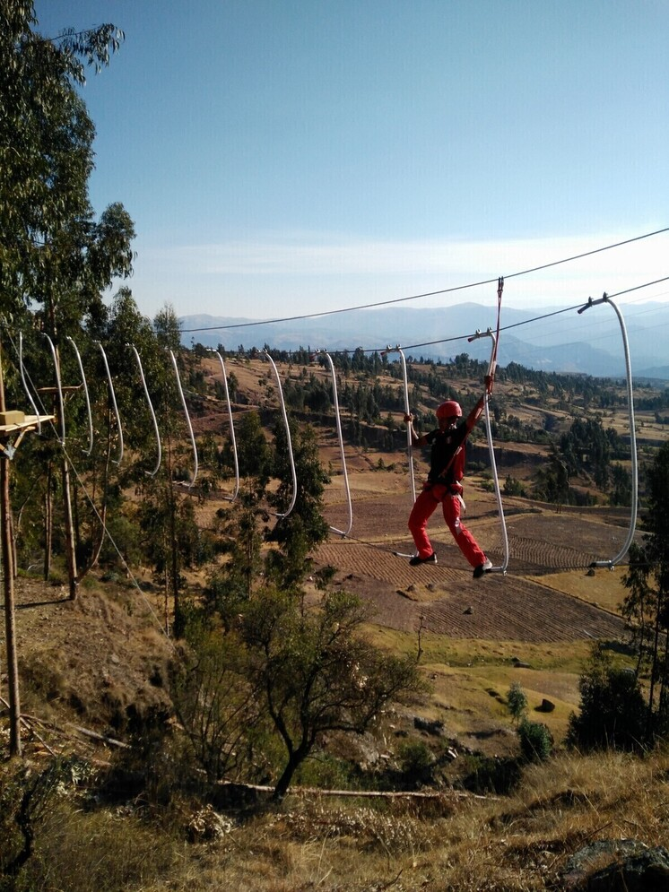 Andes adventure: Climbing park